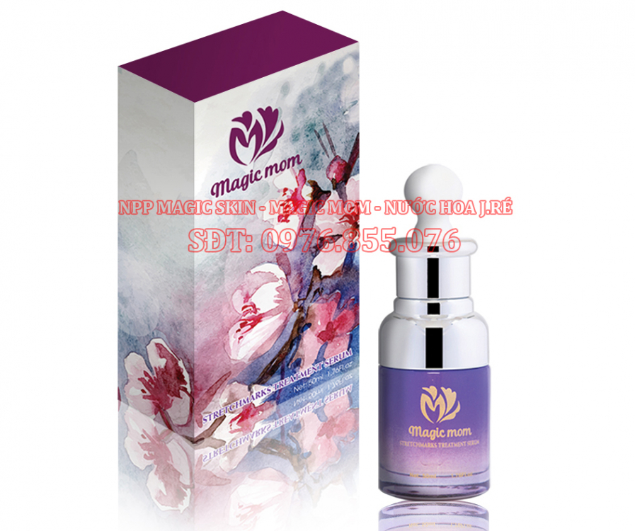 Serum ngừa rạn da Magic Mom